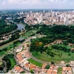 Aniversário da cidade: 245 ANOS (1º de agosto) - vista área da cidade (Foto: Christiano Diehl Neto)