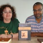 Os professores Josiane Maria e Antonio Filogênio Jr.
