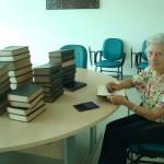 Eliana Rosso Costa realizou a doação para passar adiante o conhecimento e aprendizado