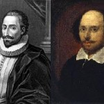 Miguel de Cervantes e William Shakeaspeare